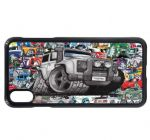 Koolart Stickerbomb & Licensed Defender Twisted TD5 4x4 Car Image Phone Case Cover Fits iPhone